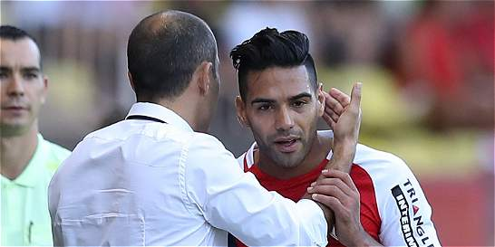 'Falcao está mejor, pero no jugará contra Leverkusen': DT de Mónaco