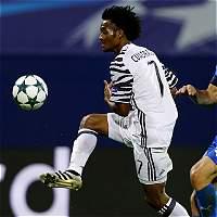 Con Cuadrado el segundo tiempo, Juventus goleó 0-4 al Dinamo