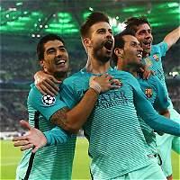 Con goles de Turan y Piqué, Barcelona le remontó al Monchengladbach