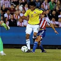 Juan Cuadrado, el de la ideas en el juego frente a Paraguay