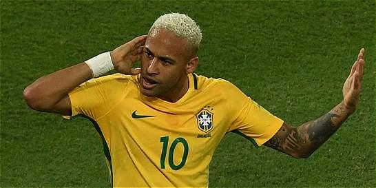 Neymar lideró la goleada de Brasil 5-0 a Bolivia
