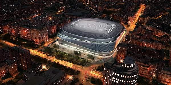 Así se verá el estadio del Real Madrid luego de su remodelación