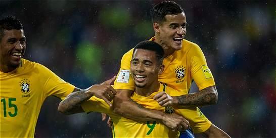 Brasil derrotó 0-2 a Venezuela es el nuevo líder de la eliminatoria