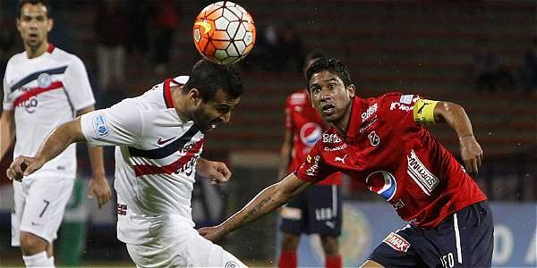 Medellín empató 0-0 con Cerro Porteño. Cristian Marrugo no brilló.
