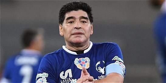Maradona, acusado de fraude fiscal en Italia, se niega a pagar