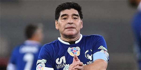 Diego Maradona, exjugador argentino.
