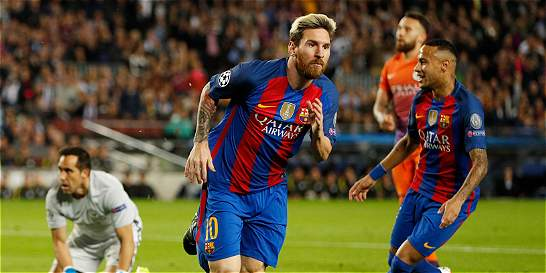 Un triplete de Messi le dio el triunfo a Barça sobre Manchester City