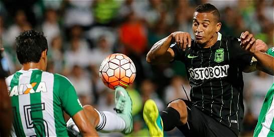 Nacional empató 1-1 en su visita a Curitiba por la Copa Suramericana