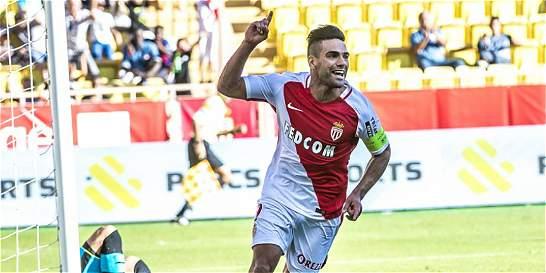 Con gol de Falcao, Mónaco empata 1-1 con Montpellier