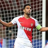 Falcao anotó en la victoria del Mónaco 6-2 contra Montpellier