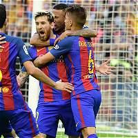 Barcelona, con dos goles de Messi, derrotó 2-3 a Valencia