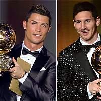 Messi y Cristiano, los favoritos a obtener el 'Balón de Oro'