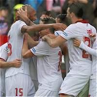 Sevilla da un 'golpe' de líder: derrotó 1-0 a Atlético de Madrid