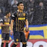 Con 'Teo' Gutiérrez los 90 minutos, Central perdió 0-1 contra Newells