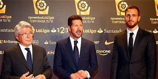 Atlético acaparó Premios de la Liga, con Griezmann como mejor jugador
