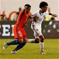Beausejour, en duda para Chile en la eliminatoria contra Colombia