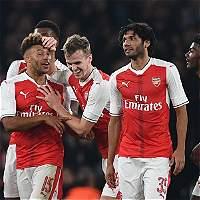 Arsenal, Liverpool y Hull, a cuartos de final de la Copa de la Liga