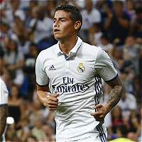 James volvería a la titular del Real Madrid en juego de Copa del Rey