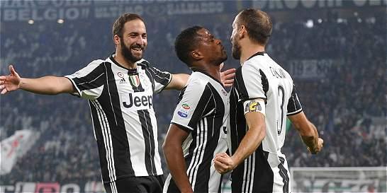 Cuadrado le ganó el duelo a Muriel: Juventus venció 4-1 a Sampdoria