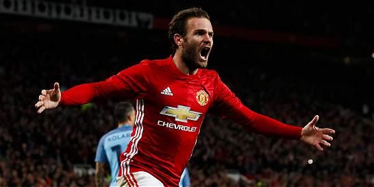 El United venció 1-0 al City y lo eliminó de la Copa de la Liga