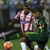Junior se 'ahogó', cayó 3-0 y quedó eliminado de la Suramericana