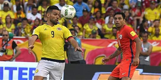 Falcao volvió a jugar con Colombia: luchó, pero no tuvo opciones