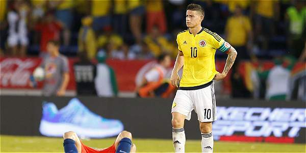 Meluk le Cuenta: Colombia siguió cediendo terreno en su casa: empató 0-0 con Chile