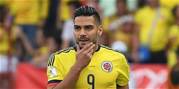 Falcao García, delantero de Colombia.