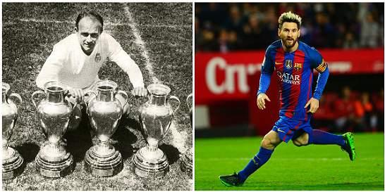 Messi y Di Stéfano, los mejores argentinos que pasaron por la Liga
