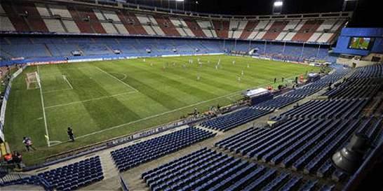 El último derbi entre Atlético y Real Madrid en el Vicente Calderón