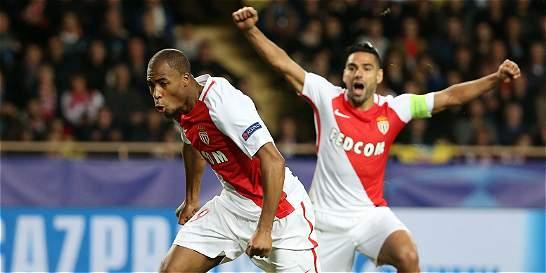 Falcao jugó 89 minutos en el triunfo del Mónaco 2-1 sobre Tottenham