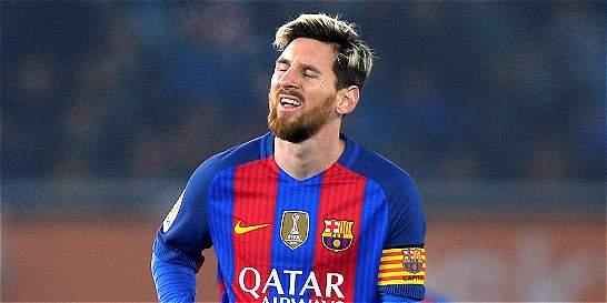 Lionel Messi, el único que está marcando goles en el Barcelona