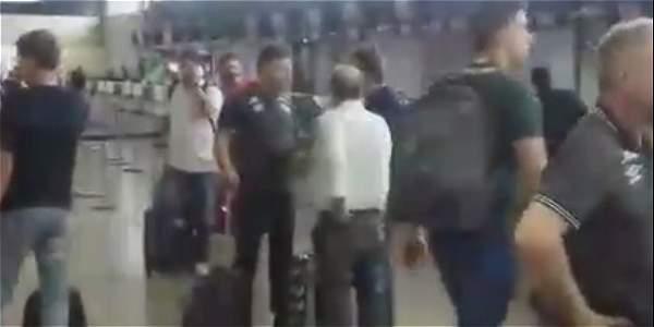 Chapecoense transmitió en vivo momentos antes de emprender su viaje a Colombia