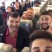 El último video de los jugadores del Chapecoense con vida