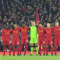 El impactante minuto de silencio del Liverpool por el Chapecoense