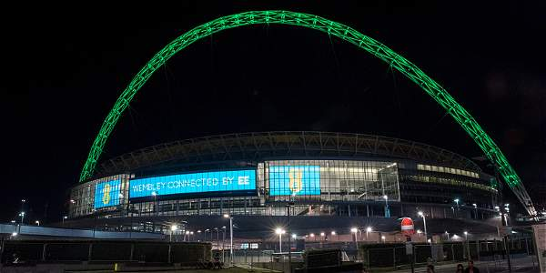 Estadio de Wembley, Inglaterra.