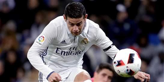 James Rodríguez, en lista del Real Madrid para el Mundial de Clubes