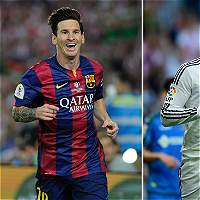 Ya se juega el clásico Barcelona vs. Real Madrid en el Camp Nou