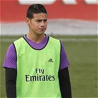 Un James cada vez más relegado, busca un lugar en el Real Madrid