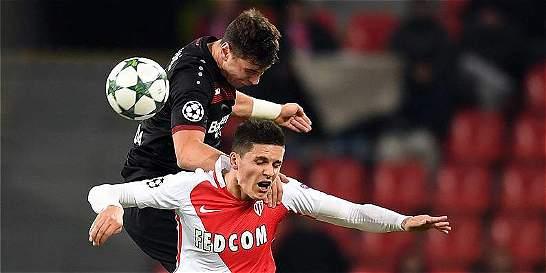 Sin Falcao, Mónaco,  perdió 3-0 en su visita al Bayer Leverkusen