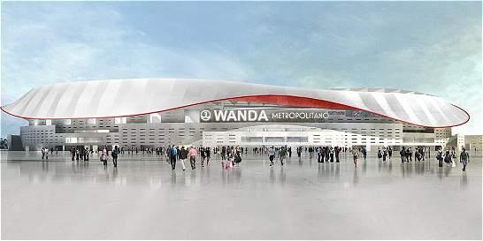 Wanda Metropolitano, el nuevo estadio del Atlético de Madrid