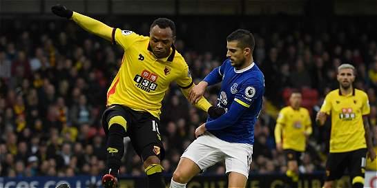 Zúñiga jugó 93 minutos en la victoria de Watford 3-2 contra el Everton