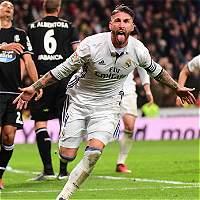 Sergio Ramos lo volvió hacer: el Madrid ganó 3-2 en el último minuto