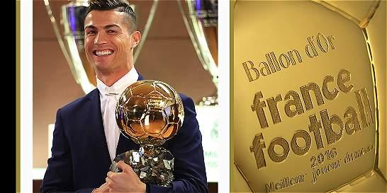 Cristiano Ronaldo, por cuarta vez, ganó el Balón de Oro