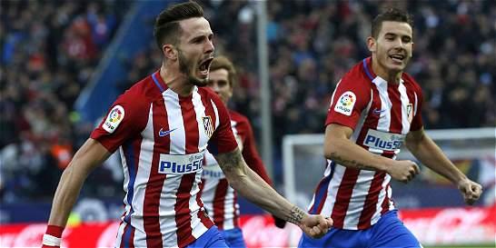 Atlético de Madrid sufrió, pero derrotó 1-0 a Las Palmas