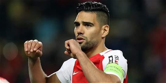 Falcao García anotó gol en la victoria de Mónaco 2-1 al Caen