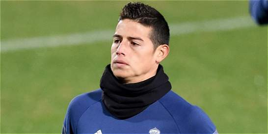 'James es un jugador muy importante': Butragueño