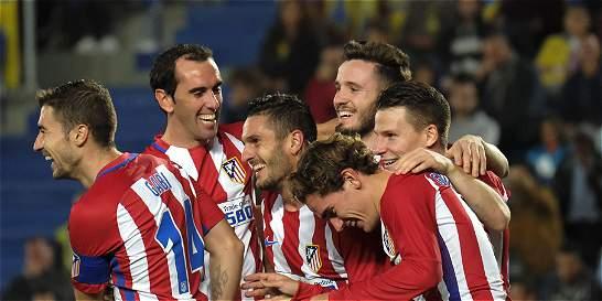 Atlético de Madrid quedó cerca de cuartos en la Copa del Rey