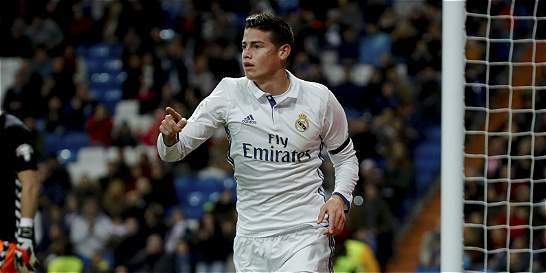James no se recuperó y no jugará contra el Sevilla por Liga
