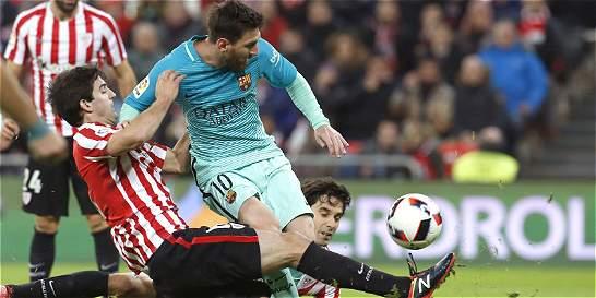 Barcelona cayó 2-1 con con Athletic en la Copa del Rey
